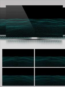 動感立體線條飄動舞臺背景素材