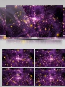 三維空間粒子維度合成背景