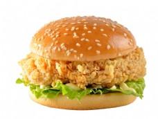 美式炸雞漢堡