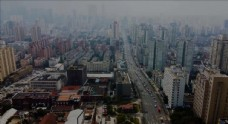 上海大連路航拍