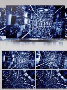 動感立體隧道傳輸大屏幕背景視頻