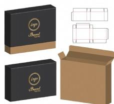 包裝盒刀模圖