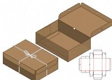 禮品包裝盒刀模圖