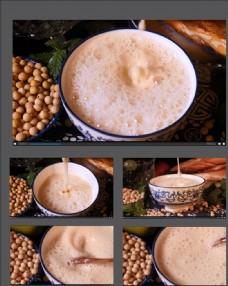 新鮮的豆漿視頻素材