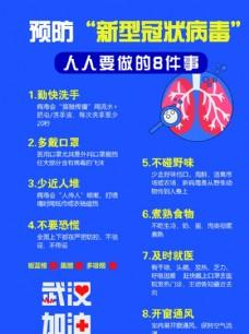预防新冠病毒要做的8件事