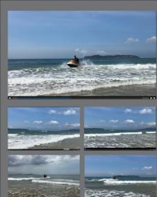 海上飛艇視頻拍攝