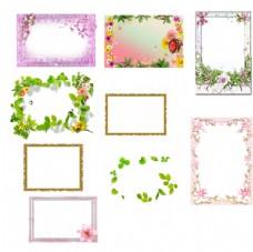 照片模板相框分层素材