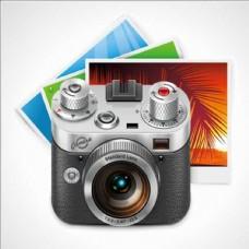 照相机卡通摄影素材照片设计