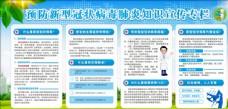 預防新型冠狀病毒展板