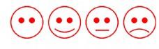 笑臉 彩色簡筆畫