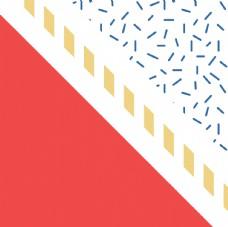 彩色拼接設計圖案