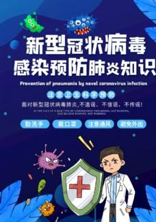 新型冠狀病毒肺炎預防疾病知識宣