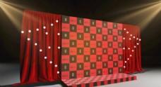 门头 3d设计 展览  展示