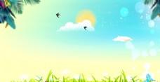 春天背景图