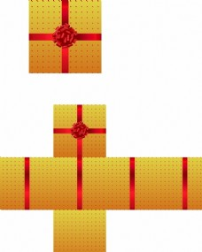 禮物盒含平面圖