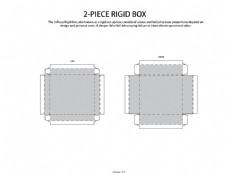 紙盒展開圖平面