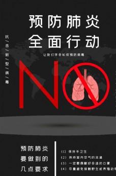 冠状病毒防疫海报