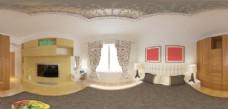 好美家室内主卧360全景图