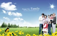 幸福一家人海報