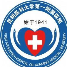 昆明医科大学第一附属医院标志
