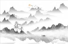 现代山水画