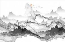 禅意山水画