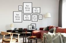 室内相框组合设计