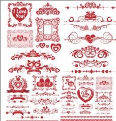 歐式邊框花紋