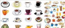 矢量咖啡杯子