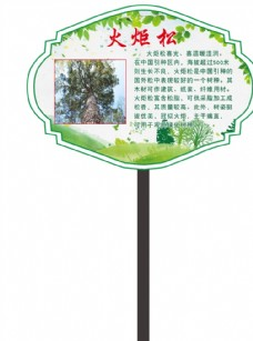 园林绿化牌子