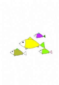 小鱼免扣图矢量图