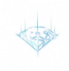 手绘钻石宝石水晶珠宝免扣素材